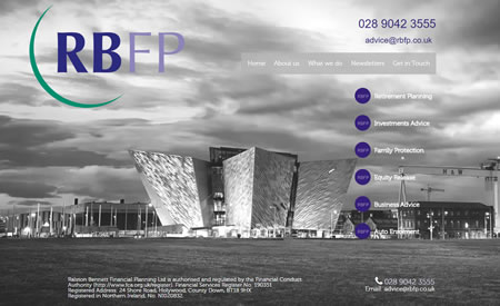 IFA Web Design - Oldbank Wealth Management