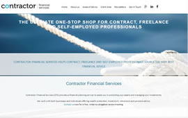 customised website templates for IFAs