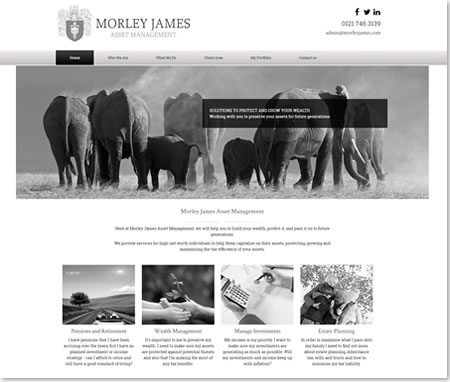 IFA Web Design - James Morley