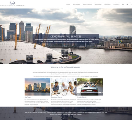 IFA website Design C