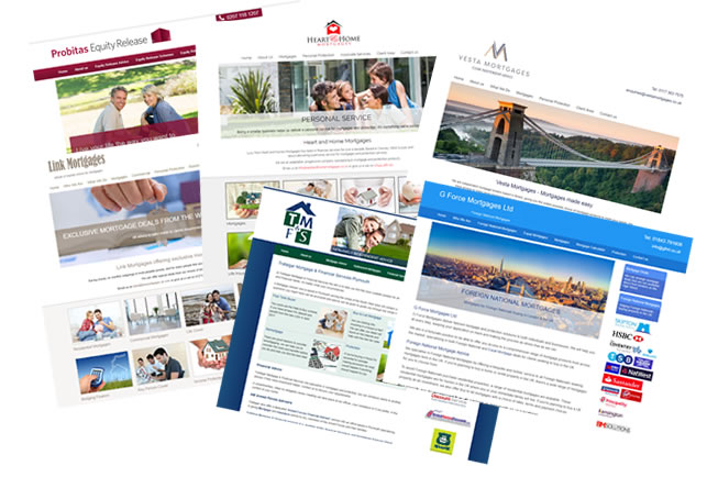 Choose form one of our stunning Mortgage Broker Website template Designs