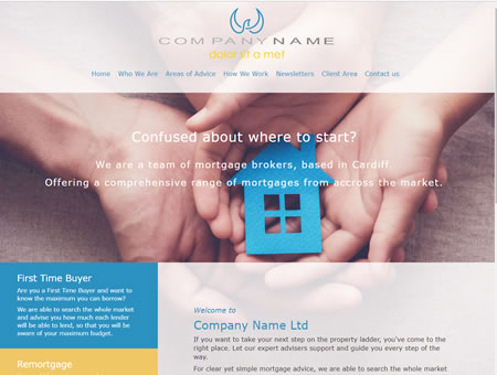Mortgage Website Design 1