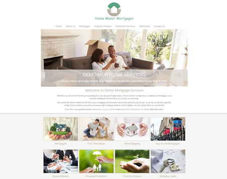 Mortgage Website Design 3