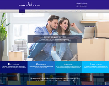 Mortgage Website Design 2
