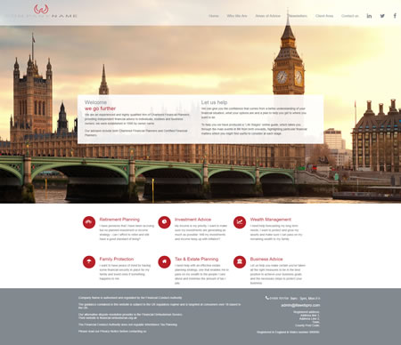 IFA website Design D