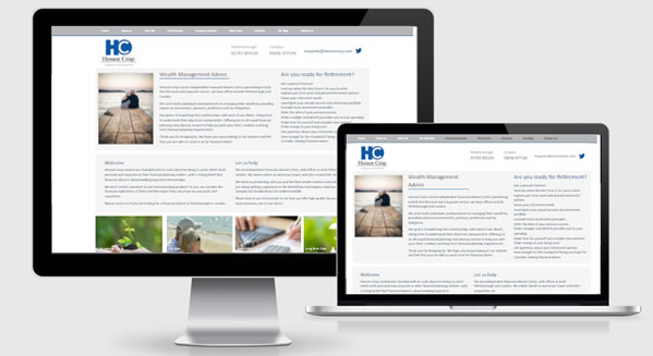 Wealth management firms across the UK benefit from our long history of web design experience with IFAs and Financial Planners
